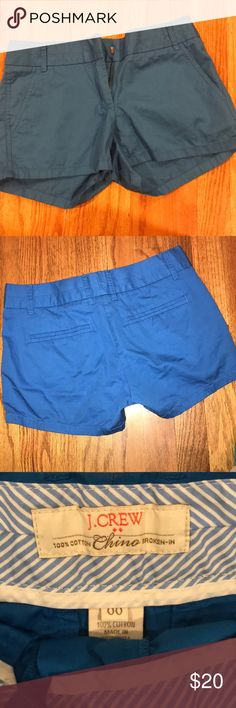 "J. Crew 3"" Chino shorts NWOT J. Crew Shorts"