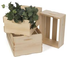 Retail Display Crates | Northern White Pine Build