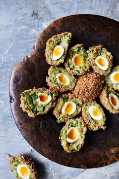 Felicity Cloakes aloo tikki scotch eggs are a mash-up of two picnic classics from very different parts of the world. They're rich in spice, but only midly hot, with a lovely fresh sweetness from peas. Pair with mango chutney, sweet and sour date and tamarind chutney or a coriander and mint raita.
