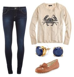 """""""Untitled #391"""" by stylescafe ❤ liked on Polyvore featuring J.Crew, Dorothy Perkins, C. Wonder and MICHAEL Michael Kors"""