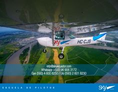 #sábado seguimos surcando los cielos de #Ecuador   Fórmate como Piloto Comercial   Siguiente curso:  #Quito - NOVIEMBRE  #Guayaquil - OCTUBRE   - Matrículas Abiertas.  Analiza nuestra experiencia, permisos, costos, nivel académico, flota, simuladores, facilidades, bases operativas, etc.  Para mayor información escríbenos a: info@skyecuador.com o mensajes WhatsApp 096 906 3172  Teléfonos:  02 601-8230 #Quito  04 600 8250 #Guayaquil   http://goo.gl/H7U4mN