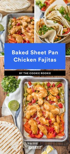 "For those ""I don't want to cook"" days. http://greatist.com/eat/one-dish-meals-sheet-pan-recipes"