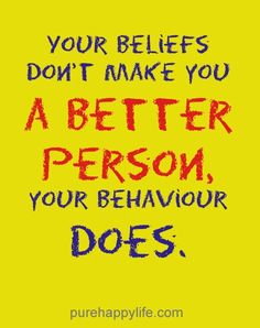 #quotes - Your beliefs dont...more on purehappylife.com
