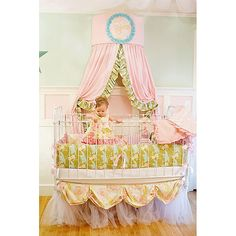Addie Baby Crib Skirt from PoshTots