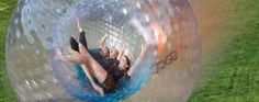 Zorb - Its 12 feet high, 12 feet fat, it's round and bouncy. You can jump inside and roll down a 700 foot long hill in a Zorb just along the Smoky Mountains. Zorb in Pigeon Forge, Tennessee is a TOTALLY cool and fun way to get a serious adrenaline rush! Gatlinburg Vacation, Tennessee Vacation, Gatlinburg Tn, Gatlinburg Tennessee Attractions, Mountain Vacations, Dream Vacations, Vacation Spots, Family Vacations, Vacation Ideas