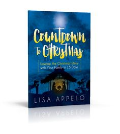 Unwrap the real Christmas story with this Christmas family devotional. Your kids will LOVE building the Nativity one piece each day as you Countdown to Christmas! -->Click here to print the the verses and get the NEW devotional!