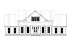 House Plan 56710 - Traditional Style with 2390 Sq Ft, 4 Bed, 3 Bath Family House Plans, New House Plans, Dream House Plans, Farmhouse Plans, Farmhouse Design, Farmhouse Style, Modern Farmhouse, Bungalow, Porch Storage