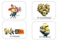 Roles del equipo cooperativo por los Minions Minion Classroom, 3rd Grade Classroom, Flipped Classroom, Cooperative Learning, Healthy Food Blogs, Minions, Class Management, Ideas Para, Innovation