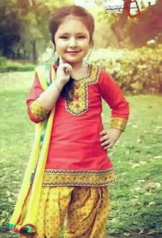 Punjabi Girl Pic and punjabi girl wallpapers,punjabi canadian girls Indian Dresses For Kids, Little Girl Dresses, Girls Dresses, Baby Dresses, Anarkali, Lehenga, Protective Hairstyles, Kids Salwar Kameez, Patiala