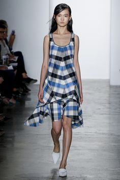 Wes Gordon Spring 2016 Ready-to-Wear Fashion Show - Phillipa Hemphrey