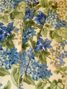 Robert Allen Fabrics Blue/Green Floral Blue indoor outdoor see at http://store.schindlersfabrics.com/roalfablflin.html  decorator fabric from Robert Allen@Home, woven outdoor fabric for where the fabric will be exposed to the weather  traditional floral design   in shades of blue and green on off white ground  price per yard, special discounted buyout, may not be reordered at this price, limited quantity  #indoor/outdoor #RobertAllenFabrics #blue/green