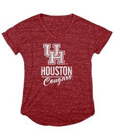 Blue 84 Women's Houston Cougars Confetti T-Shirt