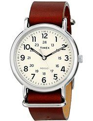 Timex Unisex T2P4959J Weekender Forty Analog Display Analog Quartz Brown Leather Watch by Timex $37.09$37.46Prime FREE Shipping on eligible orders See Details Show only Timex items 4.3 out of 5 stars 470