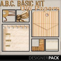 Basic Old Paper Bundle_3