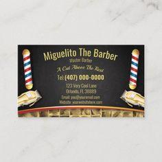 Barbershop Loyalty Card (Barber pole and clippers) Barber Business Cards, Small Business Cards, Business Card Design, Barber Gifts, Master Barber, Apple Wallpaper, Christmas Card Holders, Zazzle Invitations, Barbershop