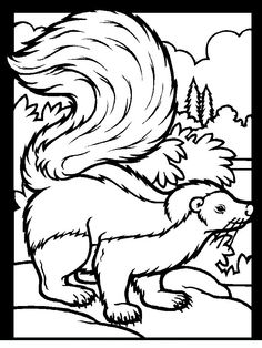 opposum coloring page opossum coloring page vbs pinterest