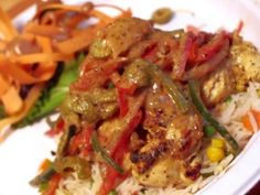 Yassa Chicken from CookingChannelTV.com
