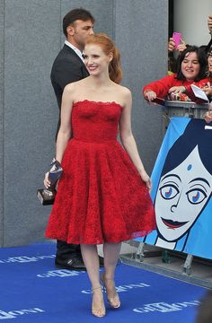 1. Jessica Chastain At The 2013 Giffoni Film Festival   The Most Fab And Drab Celebrity Outfits Of The Week