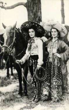 Grace Kelly - Page 31 - the Fashion Spot Vintage Cowgirl, Cowboy And Cowgirl, Mexican Art, Mexican Style, Cowgirls, Westerns, Patricia Kelly, Mexican Revolution, Mexican Heritage