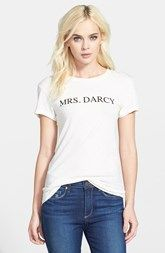 Wildfox 'Mrs. Darcy' Tee