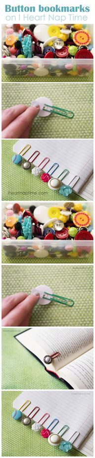 #Diy #Cute Button #B - view more crafts HERE