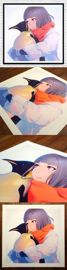 Emperor Penguin Print | Kuvshinov Ilya on Patreon