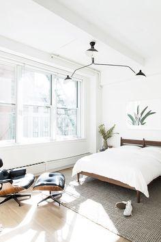 modern home furnishings in nyc loft designed by home polish / sfgirlbybay