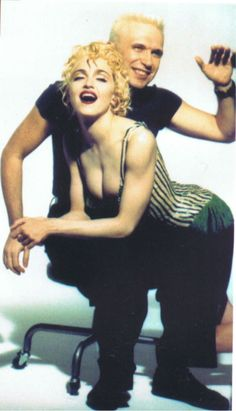 Madonna with Jean Paul Gaultier, 1991