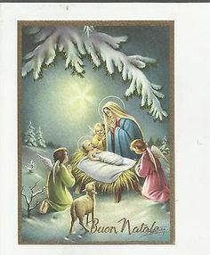 97271 Bella Cartolina Di Buon Natale Illustrata Da P. Ventura