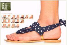 DIY sandal for the Spring/Summer