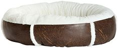 Best Friends by Sheri Round Bumper In Faux Leather  Dark Brown  Medium -- Read more reviews of the product by visiting the link on the image.