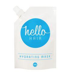 Hello Hair Hydrating Mask 100g | 100% natural | $15