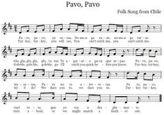 The Sweetest Melody: Pavo, Pavo - Thanksgiving (turkey) song in Spanish & English
