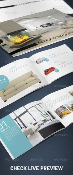 Magnificent InDesign A5 Booklet - Catalogue Template • Only available here ➝ http://graphicriver.net/item/a5-booklet-catalogue/1191557?ref=pxcr