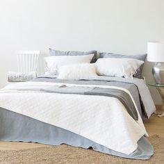 Quilt und Kissenbezug mit Struktur in gebrochenem Weiß - Schlafen - Nordic Collection | Zara Home Österreich