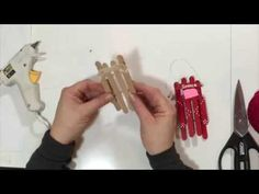 Popsicle Stick Sled TUTORIAL by Mr. Otter Art Studio.