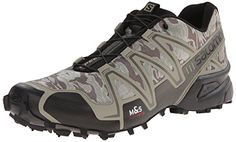 Salomon Men's Speedcross 3 Mountain Trail, Camo Titanium/Dark Titanium/Swamp, 12.5 M US Salomon http://www.amazon.com/dp/B00KWK5I3W/ref=cm_sw_r_pi_dp_zyyqwb11HRX97