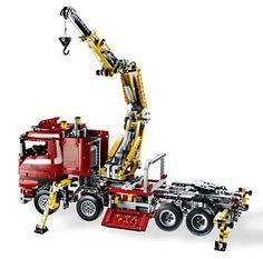 lego technic crane truck