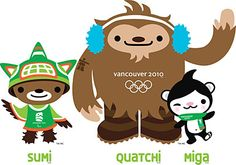 Vancouver 2010 Olympics mascots