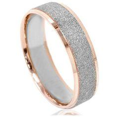 Mens Two Tone Wedding Ring - Wedding Stuff