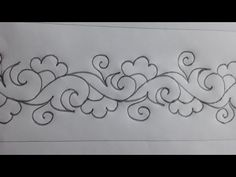 Latest nokshi kantha border design drawing, Very easy nokshi kantha drawing tutorial Border Embroidery Designs, Embroidery Patterns, Hand Embroidery Flowers, Machine Quilting Designs, Border Design, Rangoli Designs, Free Motion Quilting, Fabric Painting, Designs To Draw