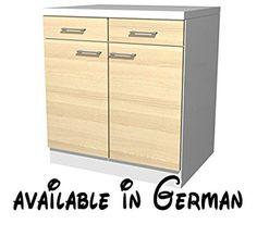 Küchenmöbel made in germany  B00VVLKH0K : Easy Home Mobile Besenhalter Kawai A9natur. | Möbel ...