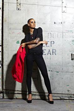 AzMarie's Photoshoot Photo on America's Next Top Model Cycle 18, Episode 3