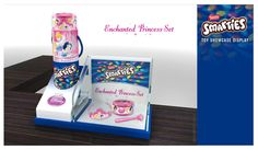 Glorifier & Other Enchanted Princess, Snack Recipes, Snacks, Pop Tarts, Cereal, Packaging, Display, 3d, Toys