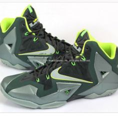 online store a6d28 f9b41 Nike Shoes   Mens Lebron James Nike Basketball Shoes   Color  Gray Green    Size  13