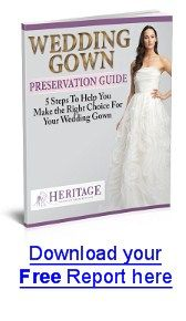 Wedding Dress Preservation A Great Website That Tells You All Need