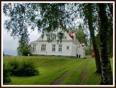 Fylkesmannsboligen i Nord-Trøndelag, Eggevegen 7715 Steinkjer, Norway Norway, Mansions, House Styles, Home Decor, Pictures, Mansion Houses, Decoration Home, Manor Houses, Villas