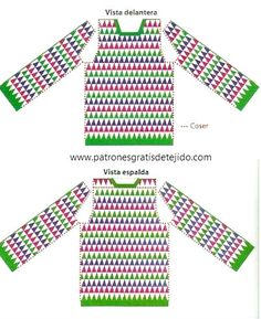 Super Crochet Paso A Paso Sueter 24 Ideas - Diy Crafts - - Diy Crafts - Crochet Jumper Pattern, Jumper Patterns, Crochet Cardigan Pattern, Crochet Tunic, Crochet Jacket, Filet Crochet, Crochet Clothes, Crochet Stitches, Crochet Patterns