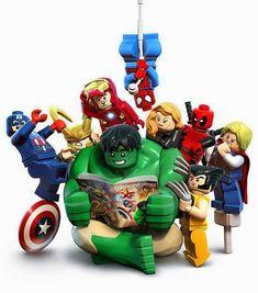 O Lobo Leitor: Os Lego Marvel Super Heroes são heroís da leitura Ms Marvel, Marvel Dc Comics, Marvel Heroes, Captain Marvel, Captain America, Marvel Characters, Thanos Avengers, The Avengers, Heros Comics