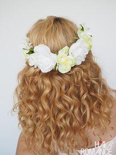 2 ways to wear a flower crown